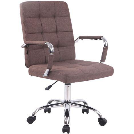 Bürostuhl Deli PRO Stoff braun CLP151694003