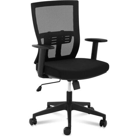 Bürostuhl ergonomisch Drehstuhl Bürosessel Netzrücken Lordosenstütze 150 kg