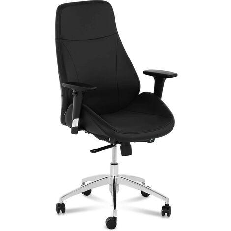 Bürostuhl ergonomisch Drehstuhl Schreibtischstuhl Chefsessel Kunstleder 150 kg