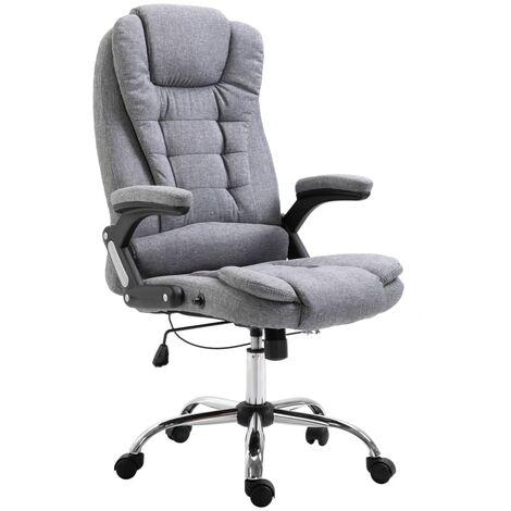 Bürostuhl Grau Polyester