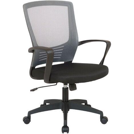 Bürostuhl Kampen-schwarz/grau