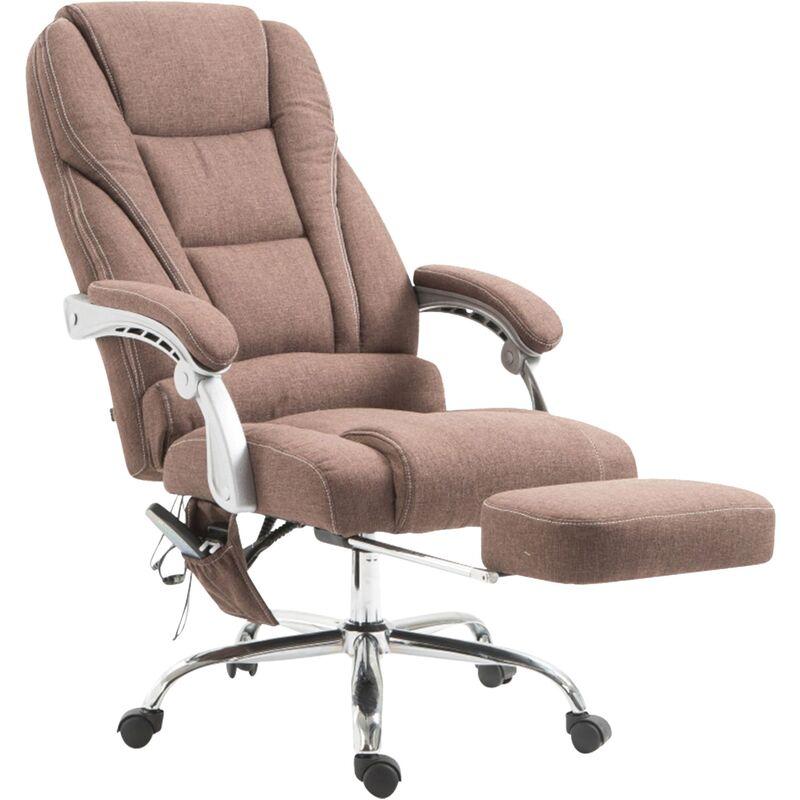 Bürostuhl Pacific Stoff mit Massagefunktion dunkelgrau