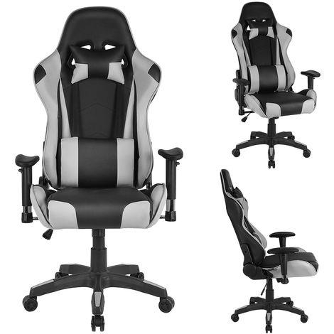 Bürostuhl Racing Chefsessel Gaming Stuhl  Drehstuhl Bürosessel Schreibtischstuhl