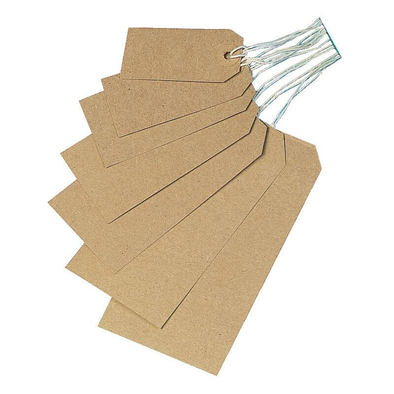 Image of Star Buff Tags Unstrung 82X41 (1000) - Five