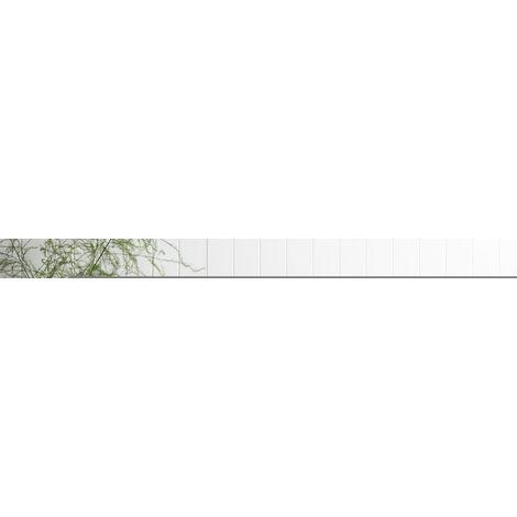 Buffet design scandinave 2 placards tiroir coulissant pieds bois massif pin panneaux particules blanc/gris