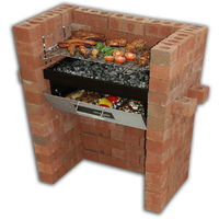 Build in - Barbecue Grill & Bake with Oven & BBQ Grill