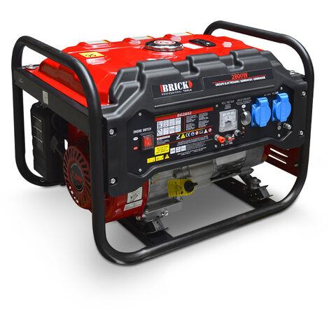 BUILD WORKER BG2802 Grupo electrógeno de gasolina. Potencia max. 2800w.