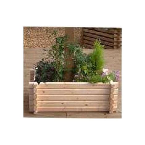 Buildround 27x36 rec planter
