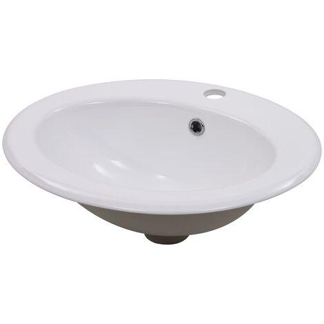 Built-in Basin 51x45.5x19.5 cm Ceramic White