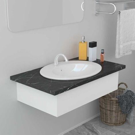 Built-in Basin 51x45.5x19.5 cm Ceramic White VD06408