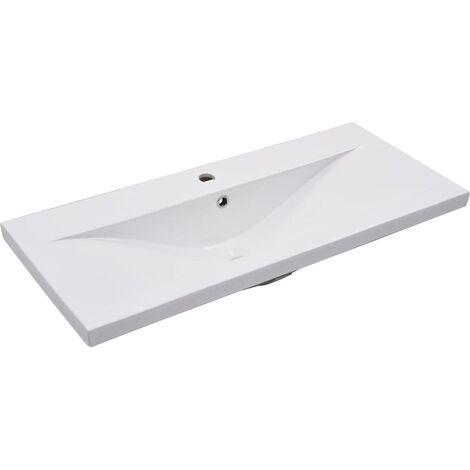 Built-in Basin 91x39.5x18.5 cm Ceramic White