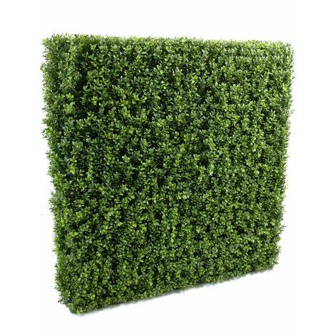 Buis artificiel HAIE NEW STRUCTURE METAL (149 cm) Haut de Gamme Buis EXTÉRIEUR / INTÉRIEUR Plantes artificielles - VERT
