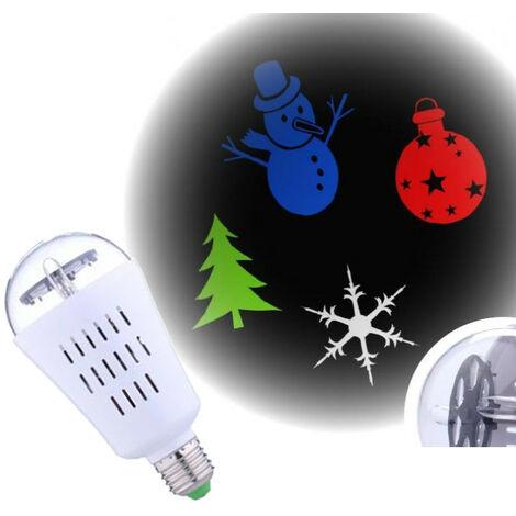 Bulbo del proyector de imágenes de Navidad Giocoplast para el interior E27