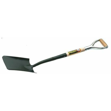 Bulldog 5TSMYD Contractors Square Mouth Trenching Shovel Wooden Handle MYD