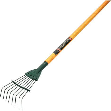 "Bulldog 9116N Springbok Junior Lawn Rake 48"" Handle"
