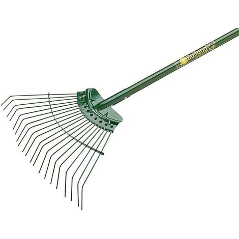 Bulldog BUL7105 Evergreen Lawn Rake Aluminium Shaft