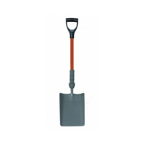 """Bulldog PD5SM2IN Insulated Square Mouth Shovel 28"""" Handle"""