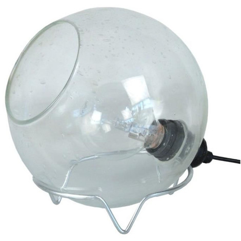 Chevet Bullegosa Cm Souffle Transparent Bulle Lampe De 20x20x19 Verre SpUzqMGV