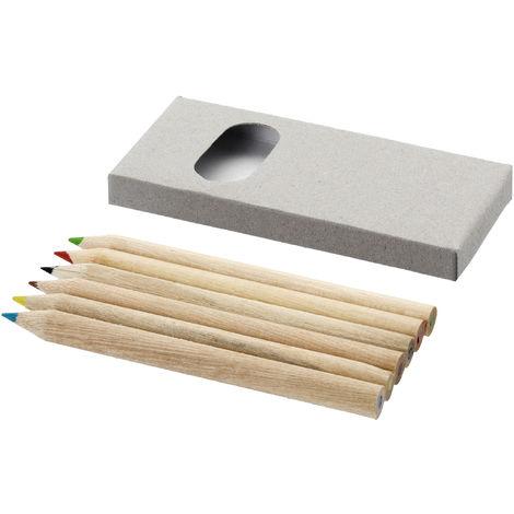 Bullet - Crayons de couleur (6 pièces) (Taille unique) (Marron)