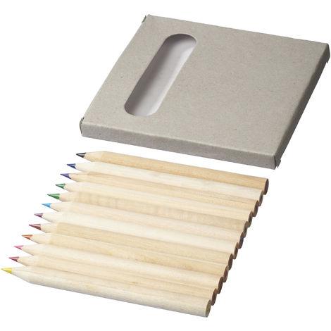Bullet - Ensemble crayons de couleur (12 pièces) (Taille unique) (Naturel)