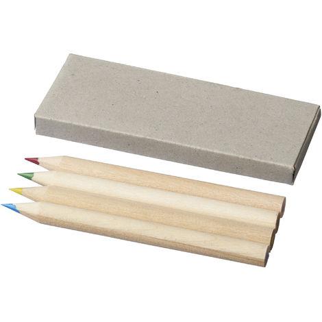 Bullet - Ensemble crayons de couleur (4 pièces) (Taille unique) (Naturel)