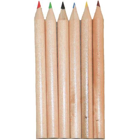 Bullet - Ensemble crayons de couleur (Taille unique) (Marron)