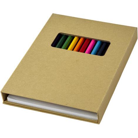 Bullet - Ensemble crayons de couleurs Pablo (Taille unique) (Naturel)
