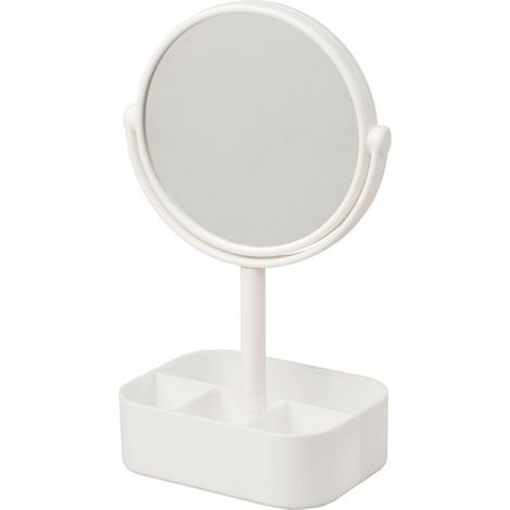 Bullet Laverne Magnifying Mirror (One Size) (White)