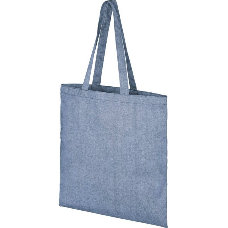 Image of Bullet Pheebs Cotton Tote Bag (One Size) (Blue Heather)