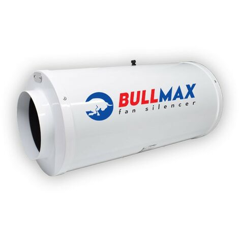 Bullfilter - Extracteur d\'air 200mm - 1205m³/h silencieux Bullmax