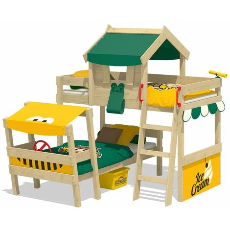Bunk bed Wickey CrAzY Trunky