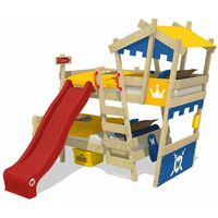 Bunk bed with slide Wickey CrAzY Castle