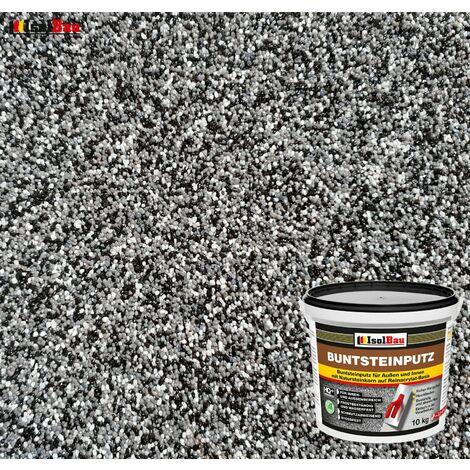 Buntsteinputz Mosaikputz BP50 5kg Absolute ProfiQualit/ät Quarzgrund 1,5 kg weiss, gelb, braun, schwarz