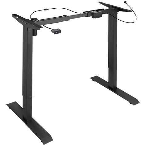 Bureau assis debout (piètement) 1 fonction - pied de table reglable, bureau electrique, bureau design
