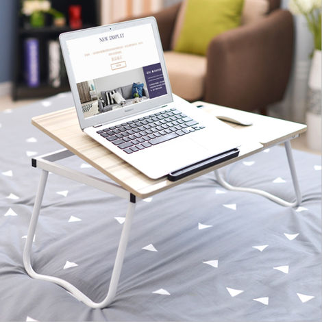 Laptop Laptop Desk Adjustable Breakfast Table Stand Serving Foldable Bed Tray A