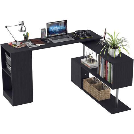 Bureau informatique modulable design contemporain zig zag