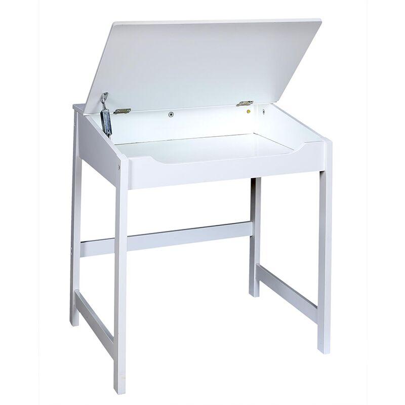 The Home Deco Factory - Bureau Pupitre Enfant Charlie Blanc Home Deco Kids