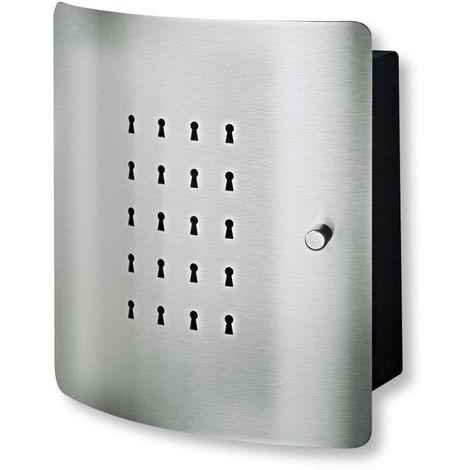 Burg-Wächter Armoire à clés avec porte design - SLOT 6220/10 Ni