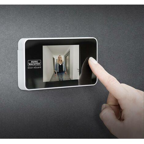 """main image of """"Burg Wächter Door eGuard DG 8100 Judas numérique avec écran TFT 8.13 cm 3.2 pouces"""""""