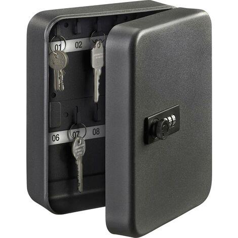 Burg Wächter Schlüsselkasten KC 20 C 35900 Anzahl Haken 20 Matt Schwarz X050411