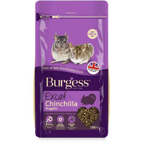 "main image of ""Burgess Excel Chinchilla Food Nuggets (1.5kg) (May Vary)"""