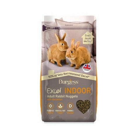 Burgess Excel Conejo Indoor Alimento para Conejos - 1,5 kg