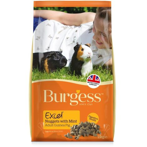 Burgess Excel Guinea Pig Nuggets