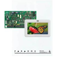 BURGLAR ALARM HOUSE KIT WIRELESS AND wired TOUCH PARADOX
