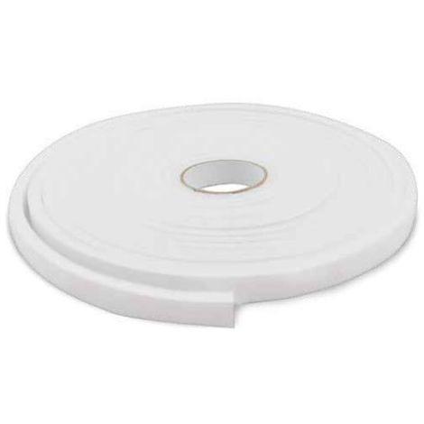 Burlete adhesivo espuma 12mm 10M Blanco GSC 003803807