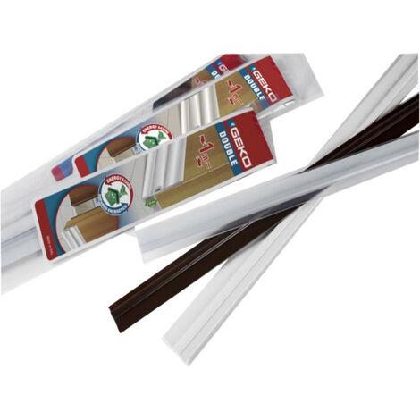 Burlete Adhesivo Pvc Con Fieltro Blanco 1M