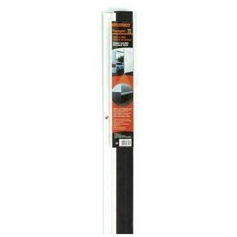 Burlete bajo puerta rigido para garaje Miarco 20873 blanco 3mt (2x1.5)