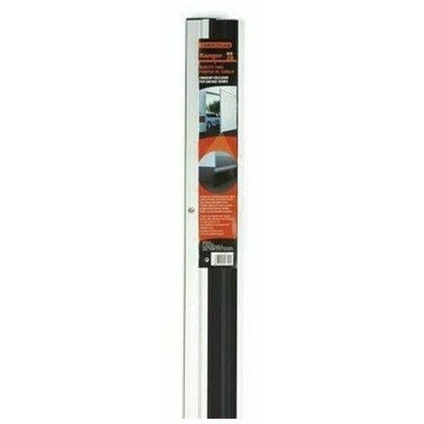 Burlete bajo puerta rigido para garaje Miarco 20875 plata 3mt (2x1.5)