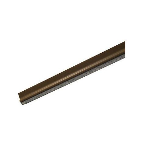 Burlete c/cepillo marron r4222 92cm