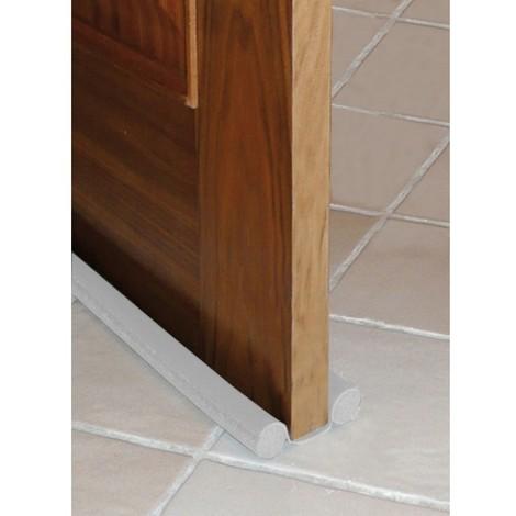 Burlete doble bajo puerta de PVC 95cm